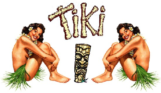 the Starving Writer's tiki links (Hawaiian Girls pic)